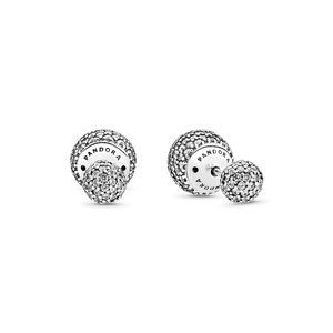 Pandora Pavé Drops Stud Earrings